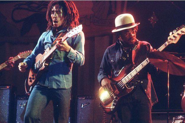 Bob Marley et Aston 'Family Man' Barrett