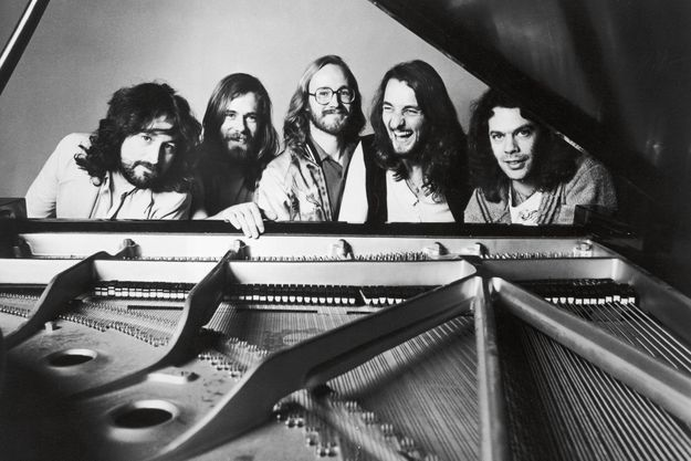 Le groupe dans les années 1970. Roger Hodgson est deuxième à partir de la droite.