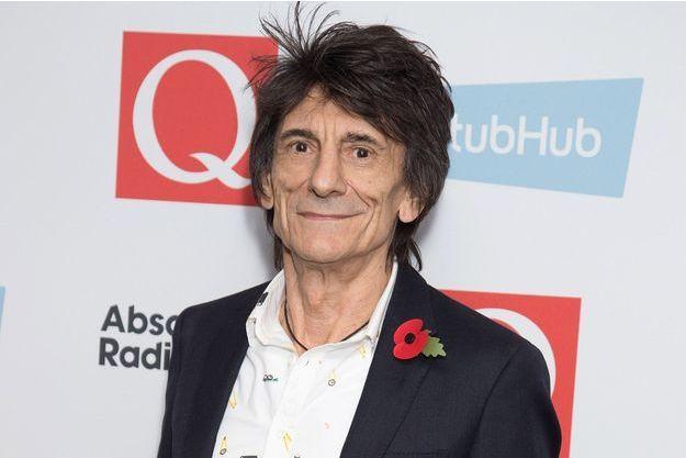 Ron Wood à Londres en novembre 2016.