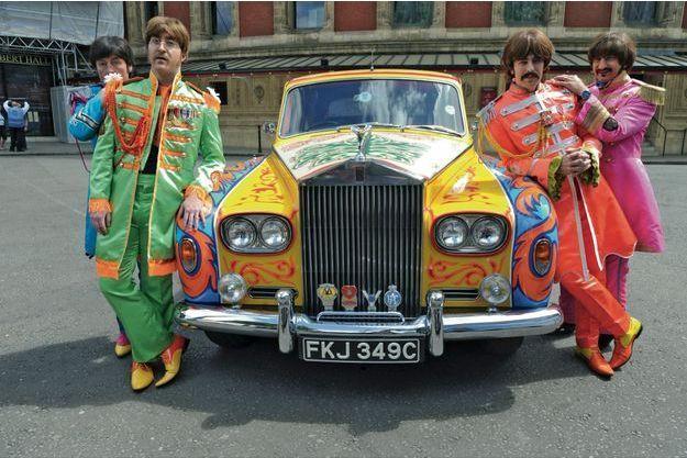 Le groupe Bootleg Beatles, créé en 1980.