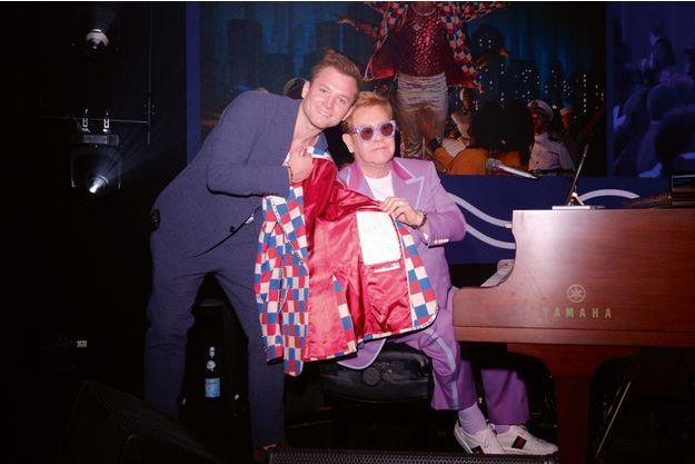 Un dîner avec Elton le 24 juillet dernier