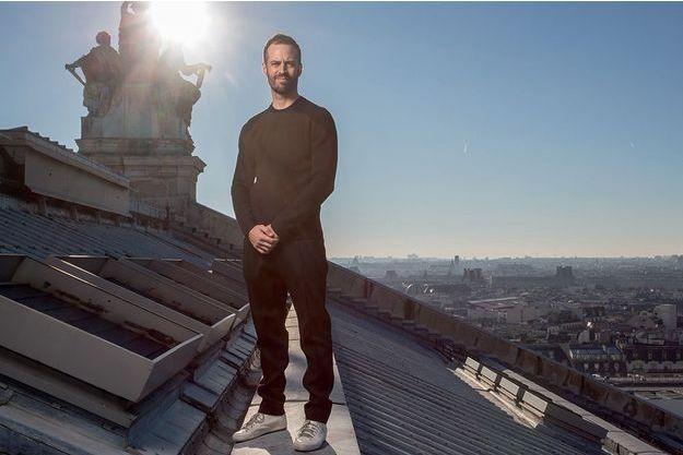 Fin de règne. Sa dernière photo sur les toits du palais Garnier, le 25 janvier 2016.