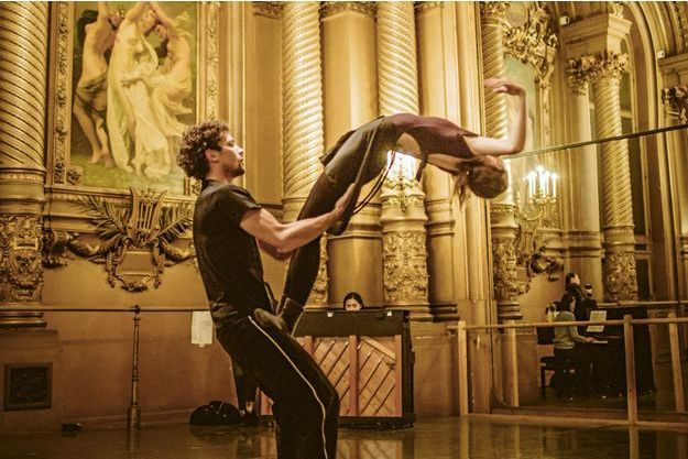 """Répétition de """"Casse-Noisette"""" à l'Opéra de Paris."""