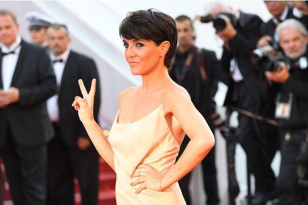 Florence Foresti lors du Festival de Cannes 2017.