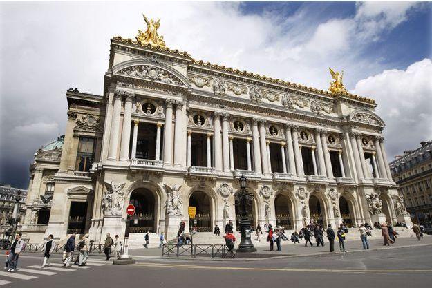 L'opéra Garnier, à Paris.