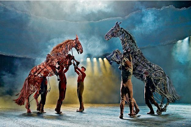 « War Horse », La Seine musicale, Boulogne-Billancourt, du 29 novembre au 29 décembre 2019.