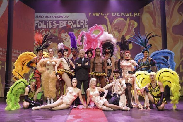 """Thierry Suc change le """"Jean Paul Gaultier Fashion Freak Show"""" en or"""