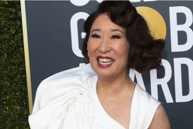Sandra Oh aux Golden Globes 2019