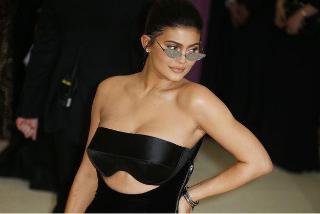 Kylie Jenner au Met Gala le 7 mai 2018