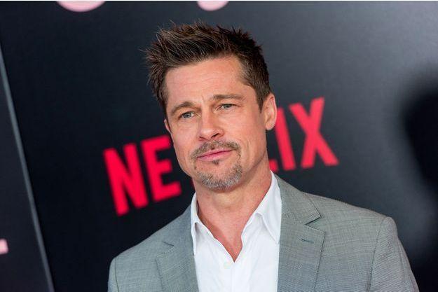 Brad Pitt en juin 2017
