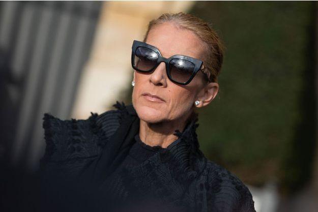 Céline Dion à Paris le 1er février 2019.
