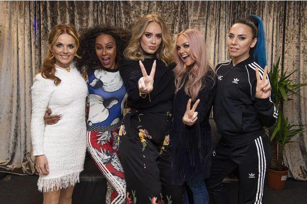 Adele avec les Spice Girls