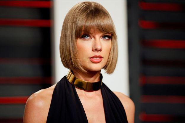 Taylor Swift à la Vanity Fair Oscar Party de Beverly Hills, le 28 février 2016.