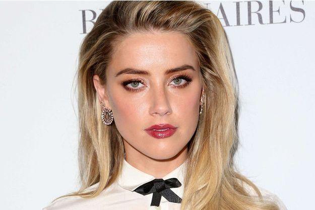 Amber Heard lors du gala Unite4 à Beverly Hills.
