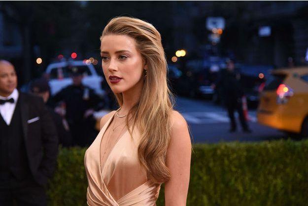 Amber Heard lors du MET Ball Gala, le 2 mai 2016.