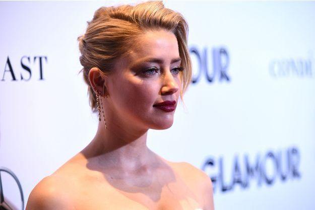 Amber Heard le 12 novembre 2018 à New York