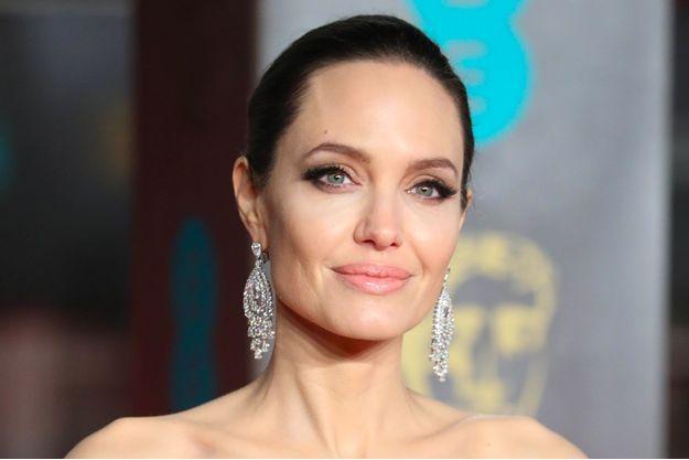 Angelina Jolie aux BAFTA à Londres, le 18 février 2018.
