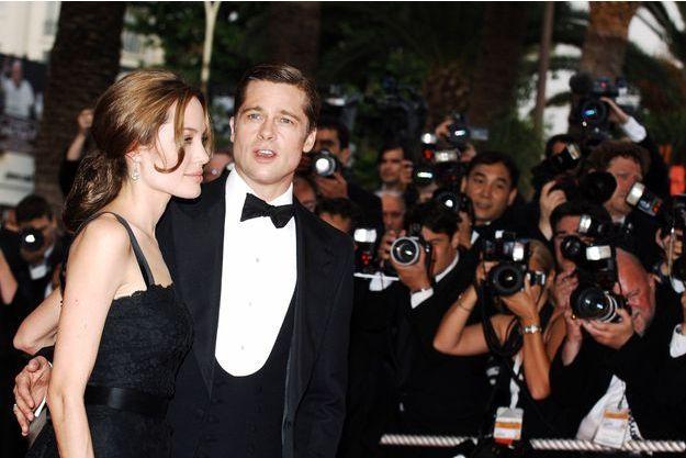 Angelina Jolie et Brad Pitt en 2007.