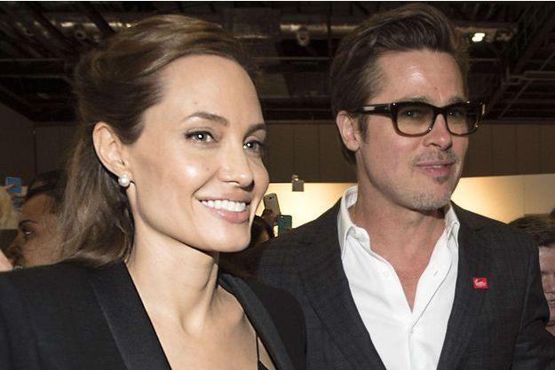 Angelina Jolie et Brad Pitt, en juin 2014.