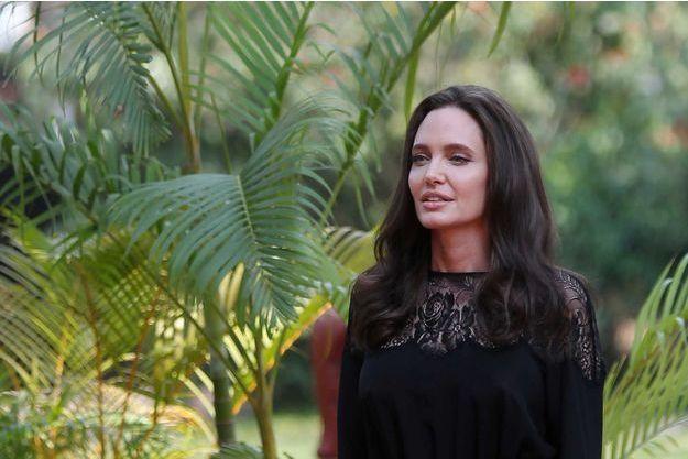 Angelina Jolie au Cambodge