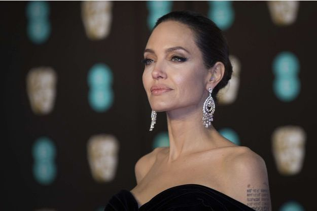 Angelina Jolie aux BAFTA 2018.