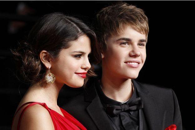 Selena Gomez et Justin Bieber en 2011.