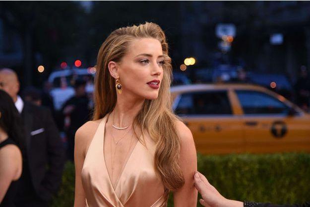 Amber Heard au MET Ball Gala, mai 2016.