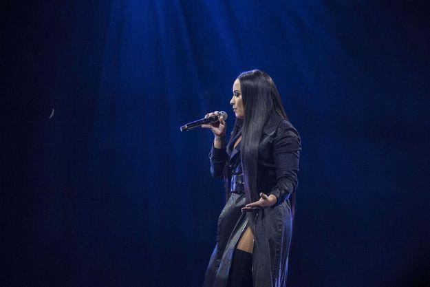 Demi Lovato sur scène à Londres le 25 juin dernier.