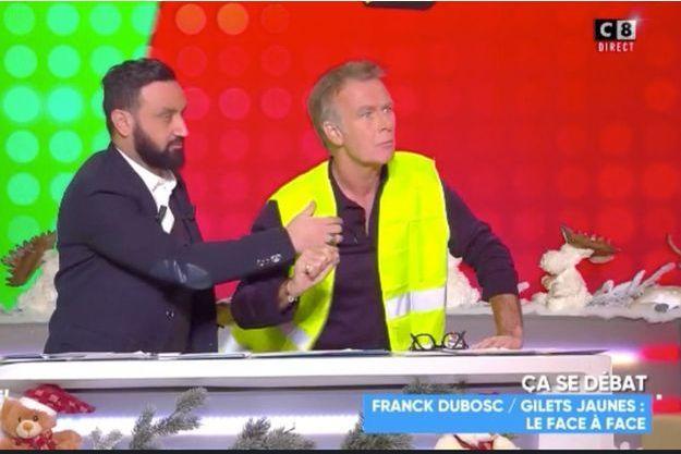 Franck Dubosc lundi sur le plateau de Cyril Hanouna.