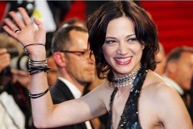 Asia Argento au Festival de Cannes en 2005