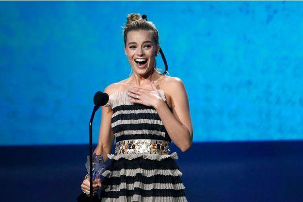 """Margot Robbie a été récompensée pour """"Moi, Tonya"""""""