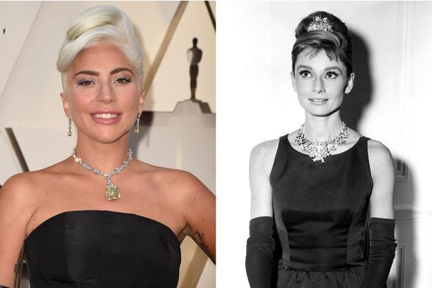 Lady Gaga et Audrey Hepburn