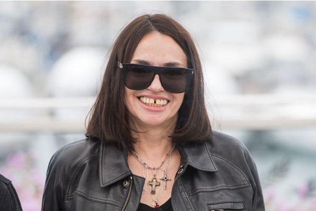 Béatrice Dalle au festival de Cannes 2019