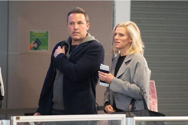 Ben Affleck et Lindsay Shookus en mars 2019