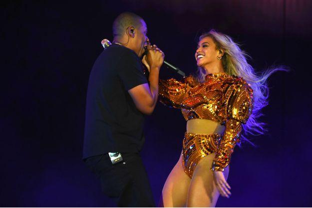 Beyoncé et Jay-Z en octobre 2016