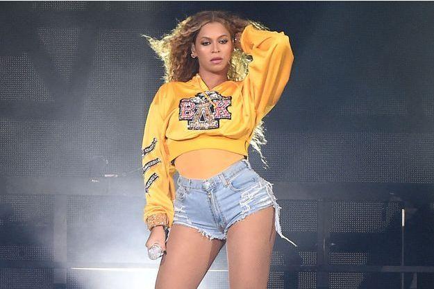 Beyoncé au Coachella Festival en avril 2018