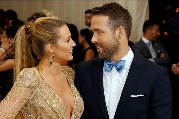 Blake Lively et Ryan Reynolds, le 1er mai 2017 à New York.