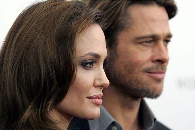 Brad Pitt et Angelina Jolie en 2011.