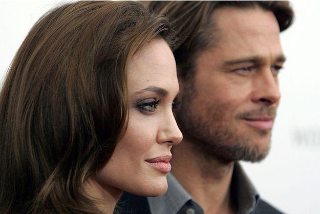 Angelina Jolie et Brad Pitt, au temps du bonheur.