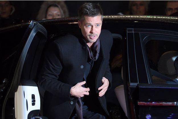 Brad Pitt à Londres en novembre 2016.
