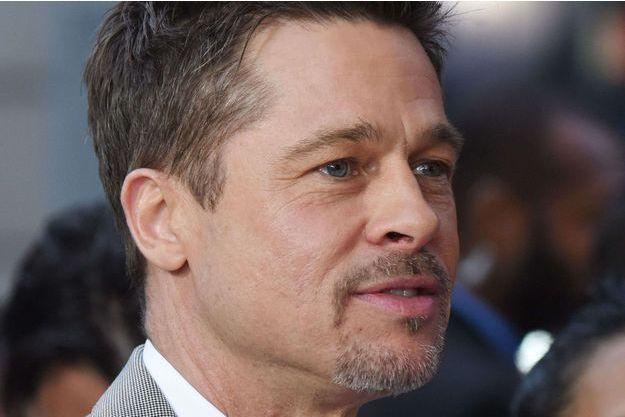 """Brad Pitt à l'avant-première de """"Okja"""" à New York, le 8 juin 2017."""