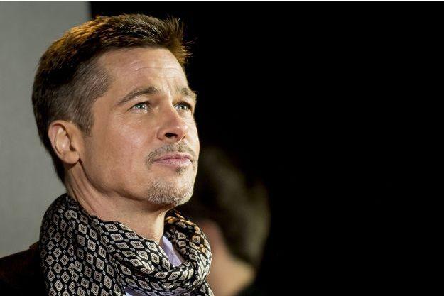 Brad Pitt à Madrid en novembre 2016.