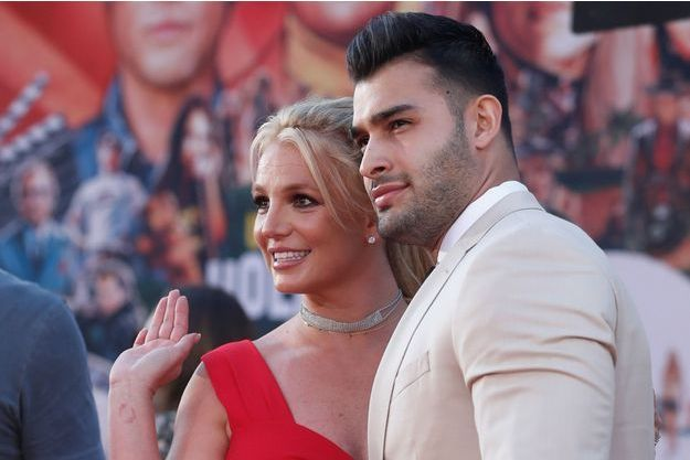 Britney Spears et son compagnon Sam Asghari