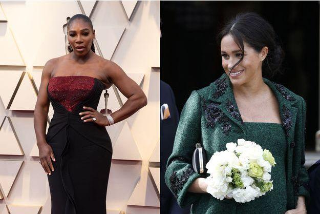 Serena Williams et Meghan Markle