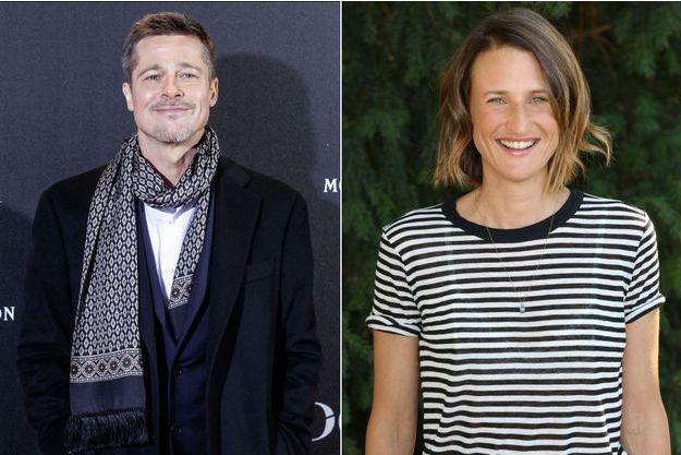 Brad Pitt et Camille Cottin