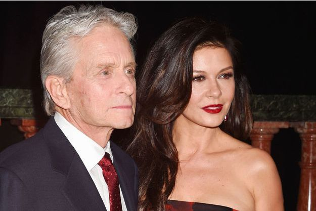 Michael Douglas et Catherine Zeta-Jones à Los Angeles le 8 février 2016