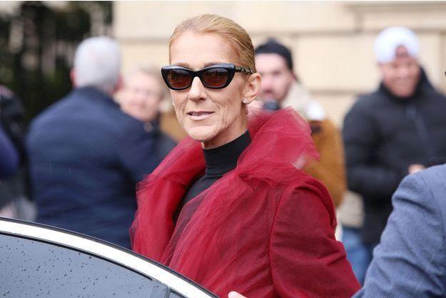 Céline Dion à Paris, le 27 janvier 2019