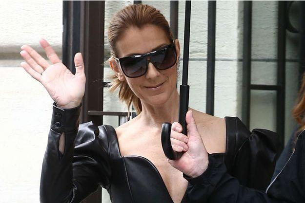 Céline Dion à Paris, juillet 2017.