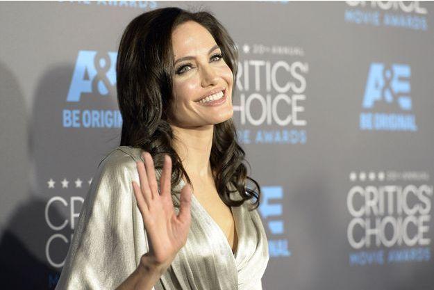Angelina Jolie à Los Angeles en janvier dernier.