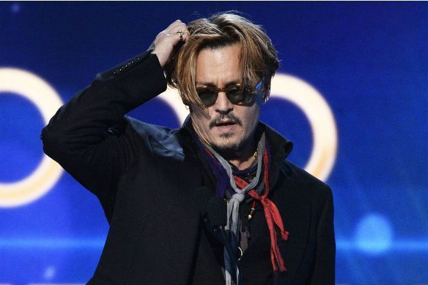 Johnny Depp vendredi soir.